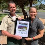 Andy Smith wins coveted forest service award