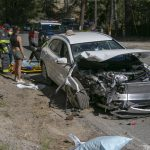 Collision on Highway 243 and Jameson Drive