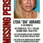 Local  Dia Abrams  still missing