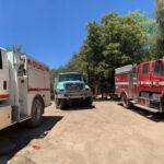 Quarter-acre fire last week