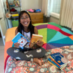 Local girl creates 'Positively Alexa' book review channel
