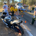 Vehicle collides with unoccupied parked car
