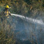 McCall Fire shuts  down Highway 74