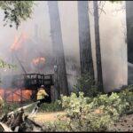 House fire on Sylvan Way Sunday