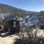 Homes lost in Pinyon-area fire