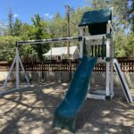 New playground equipment at Town Hall and upcoming open house