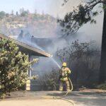 Fire on West Ridge