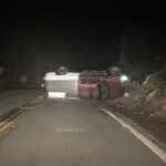 Two minor traffic collisions on Hill roads