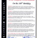 "July 4-10 proclaimed ""Ernie Maxwell Week"" by Riverside County"