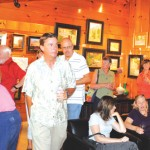 Quiet Creek hosts double artists' reception